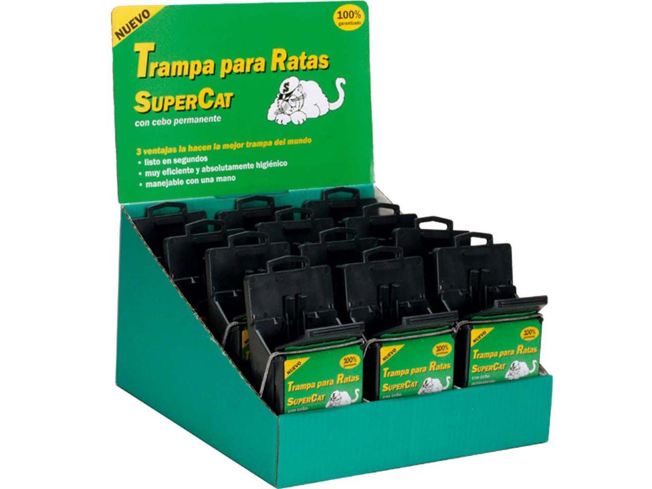 Sufersa supercat trampa para ratas y cebo - Trampas para ratones y ratas ...